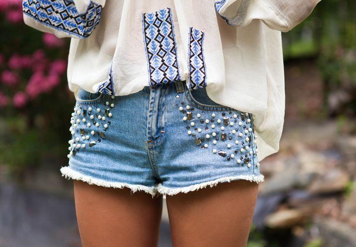Calças e shorts customizados