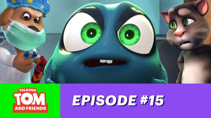 Talking Tom and Friends ep.15 - The Germinator.  xo, Talking Angela #TalkingAngela #TalkingTom #MyTalkingAngela #LittleKitties #TalkingFriends #TalkingBen #TalkingHank #TalkingGinger #germ