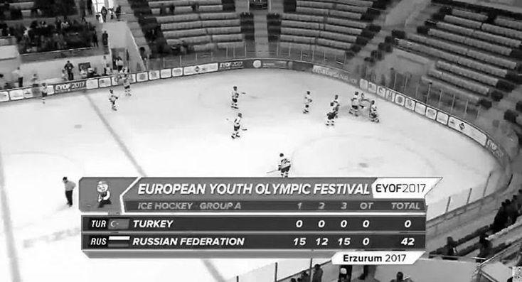 Buz Hokeyi Federasyonu '42-0'ı böyle savundu: İlk maçımızdı,çocukların mücadelesiyle farkı indirdik