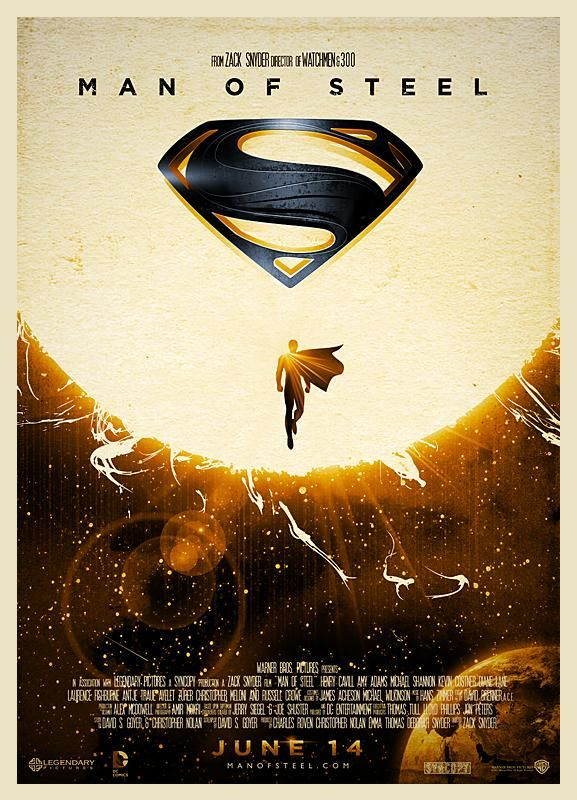 Man of Steel. This is a fabulous poster.