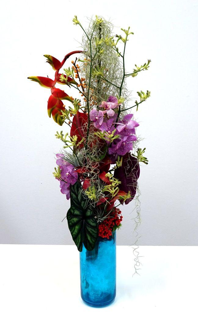 ber ideen zu brautstrau mit orchideen auf. Black Bedroom Furniture Sets. Home Design Ideas