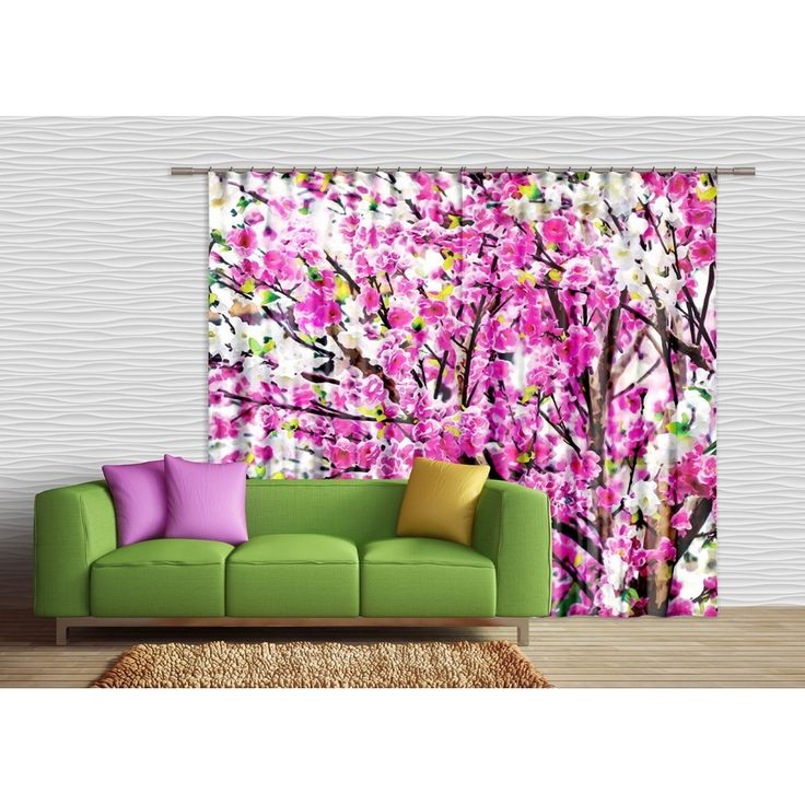 Virágos függöny, virágok dekorfüggöny #függöny #virág #lakberendezés