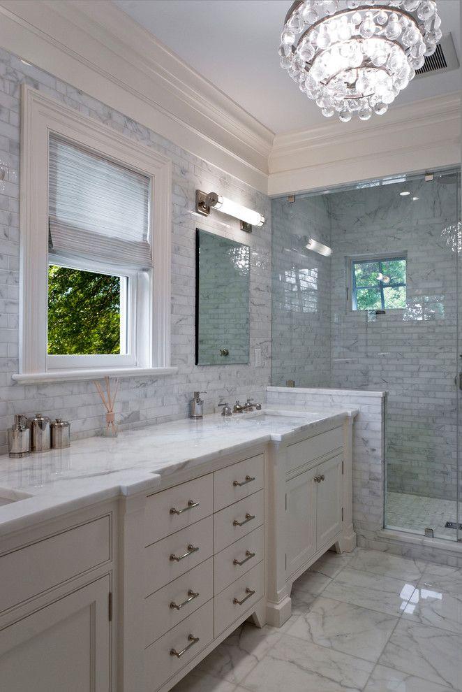Best Images About Cook On Pinterest Traditional Contemporary - Carrara marble bathroom countertops for bathroom decor ideas