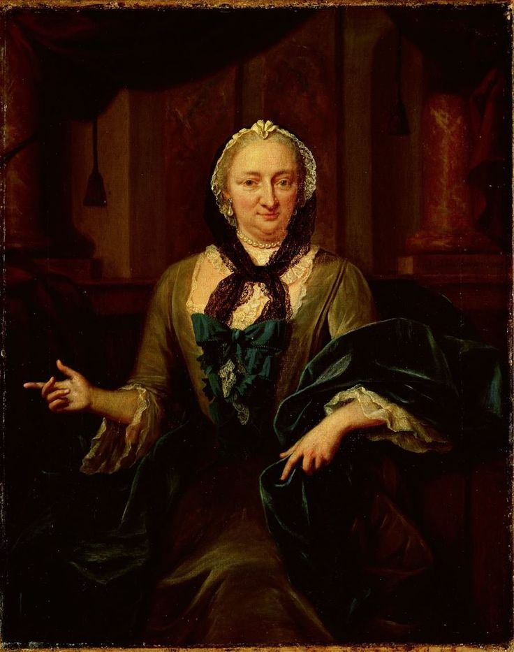 Margaretha Trip (1699-1778). Echtgenote van Harmen Hendrik van de Poll, Jan Maurits Quinkhard, 1754. Рейксмузеум Амстердам