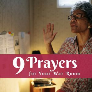 war room prayers...haven't seen the movie yet but Gods really been challenging me to fight through prayer