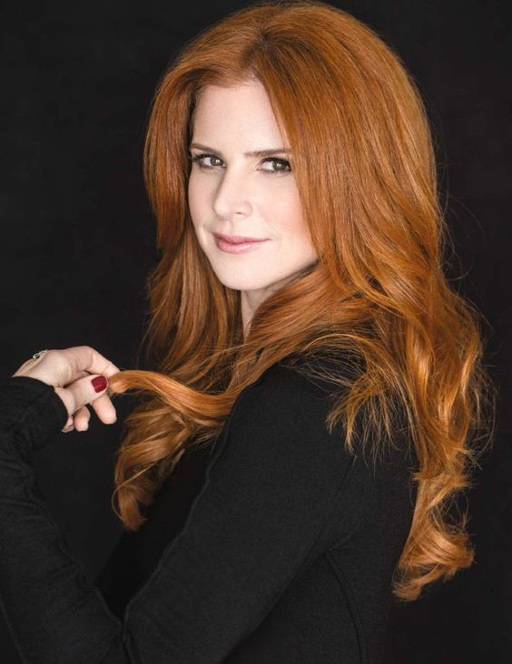Sarah Rafferty gorgeous redhead on Suits TV show-beautiful women and no two are alike. rtaylor1776