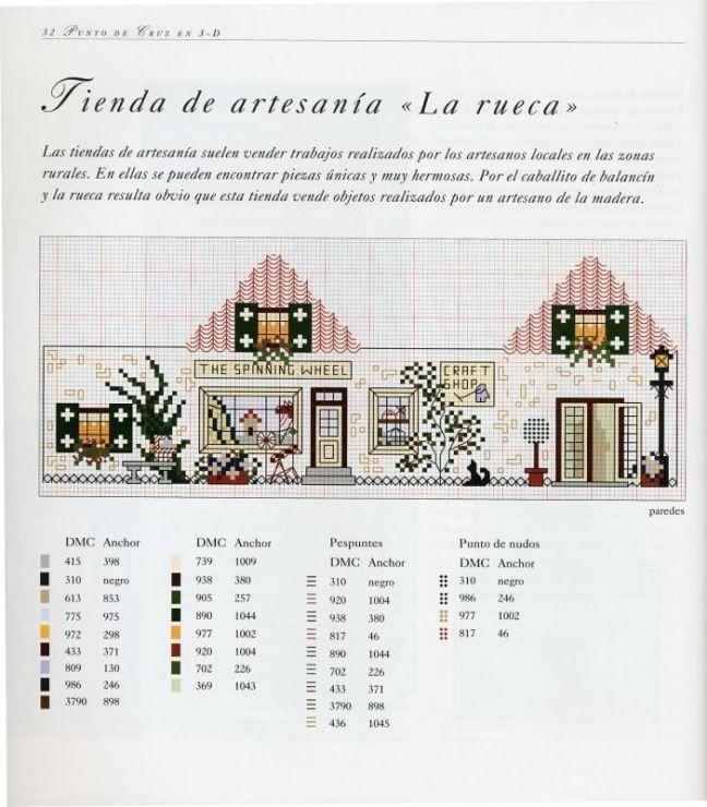 Les 533 meilleures images propos de maisons points de - Maison point de croix ...