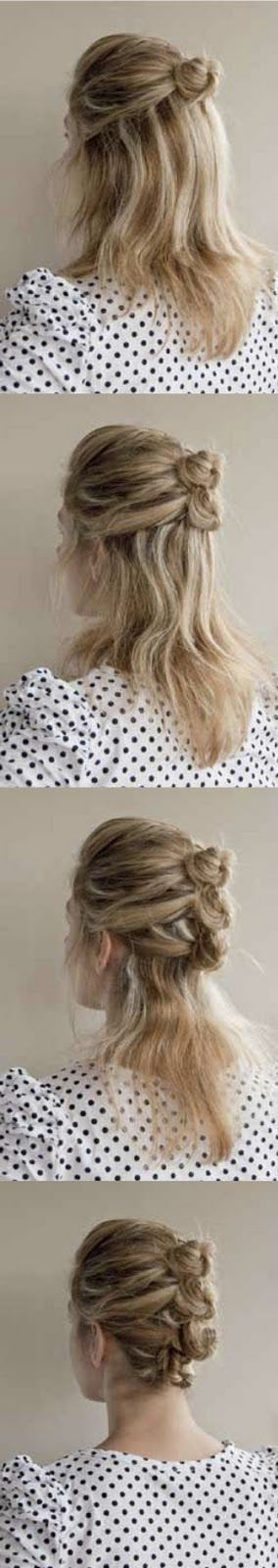 Cute hair idea with Twist Braid| http://twistbraidhairstyles787.blogspot.com