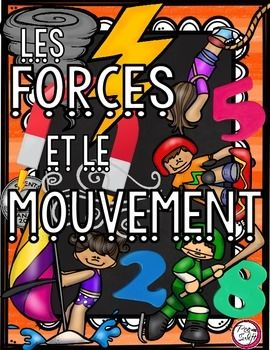 This product was created to complement the Ontario Curriculum Grade 3 Science strand; MATIÈRE ET ÉNERGIE : LES FORCES ET LE MOUVEMENT* in French!