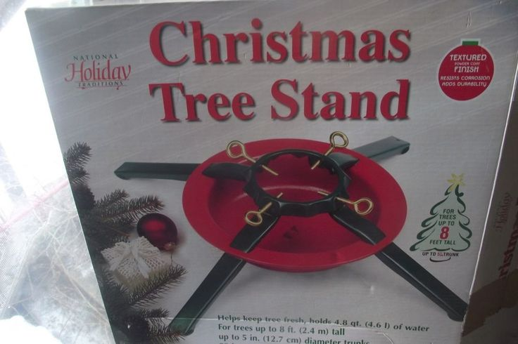 National Holiday Traditions Christmas Tree Stand Holds Water Trees Up To 8 Feet  #NationalHolidayTraditions