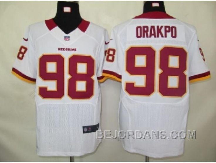 http://www.bejordans.com/free-shipping-60-off-nike-nfl-washington-red-skins-98-orakpo-white-elite-jerseys.html FREE SHIPPING ! 60% OFF! NIKE NFL WASHINGTON RED SKINS #98 ORAKPO WHITE ELITE JERSEYS Only $20.00 , Free Shipping!