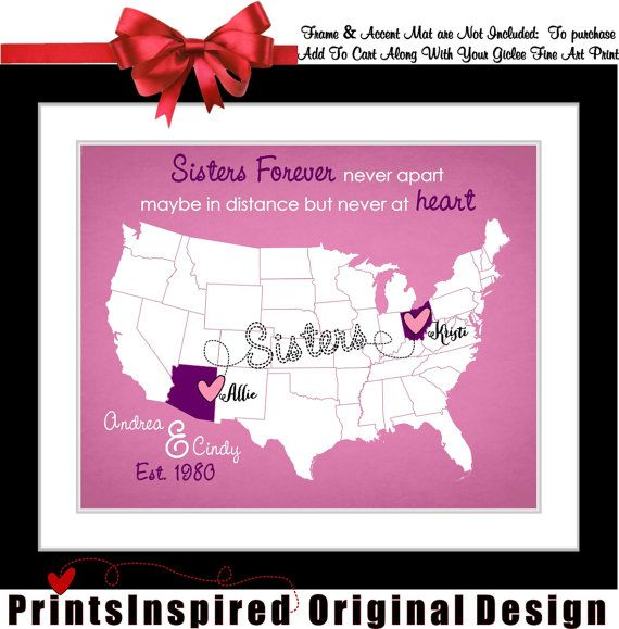 Long Distance Sister Relationship Quotes: Best 25+ Sister Birthday Gifts Ideas On Pinterest