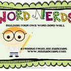 Assess your students' vocabulary knowledge in an authentic way with the Word Nerd Wall! This product includes -Word Nerd template for students to record found vocabulary words -printable I Can statement -printable Word Nerd poster -printable nerd graphic for wall -instructions and picture of completed wall -sample Word Nerd This is one of my students favorite activities! They love finding words we have studied in books they read. $1