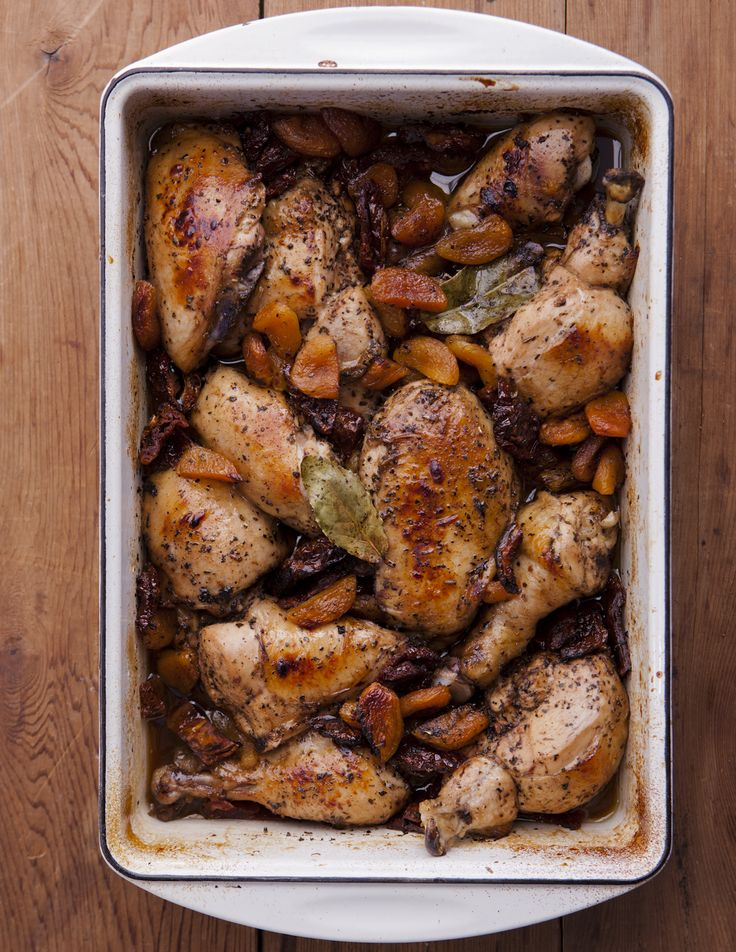 A great chicken recipe perfect for your jewish high holiday meal!