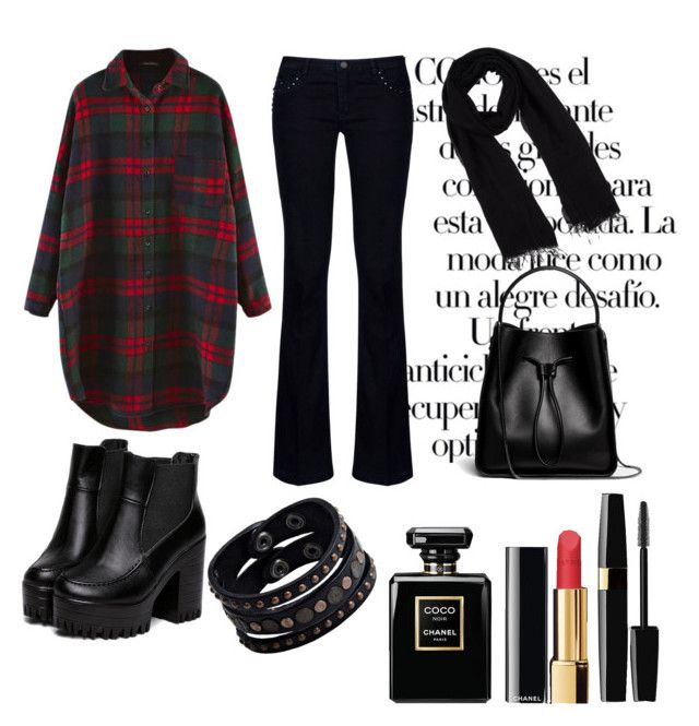 """""""#mydailyfashion#winter#style#sultankurtay"""" by sultankurtay on Polyvore featuring Arco, Armani Jeans, 3.1 Phillip Lim, Blue Les Copains, Replay and Chanel"""