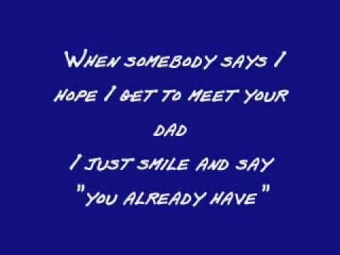 A Song For Dad - Keith Urban (Lyrics) Love this song, and its so very true (: xx