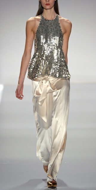 silver & silk- Jill Stuart Spring 2013