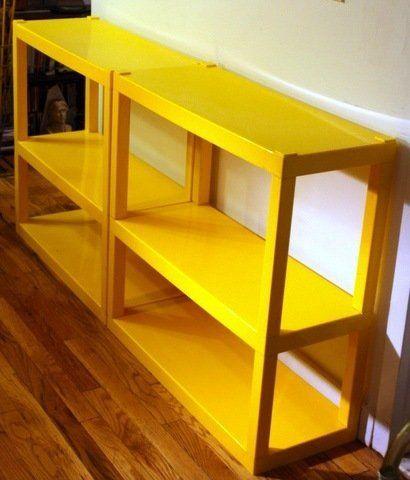 Vintage ABS Plastic Shelves - $160