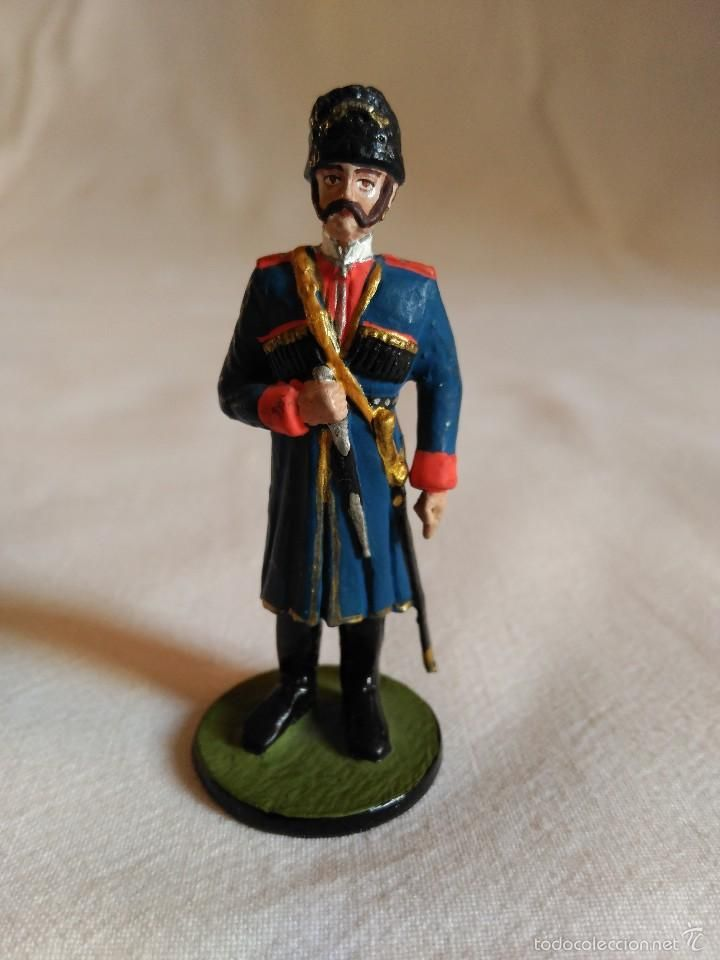 Juguetes Antiguos: Figura de plomo oficial militar. romanjuguetesymas. - Foto 2 - 56485560