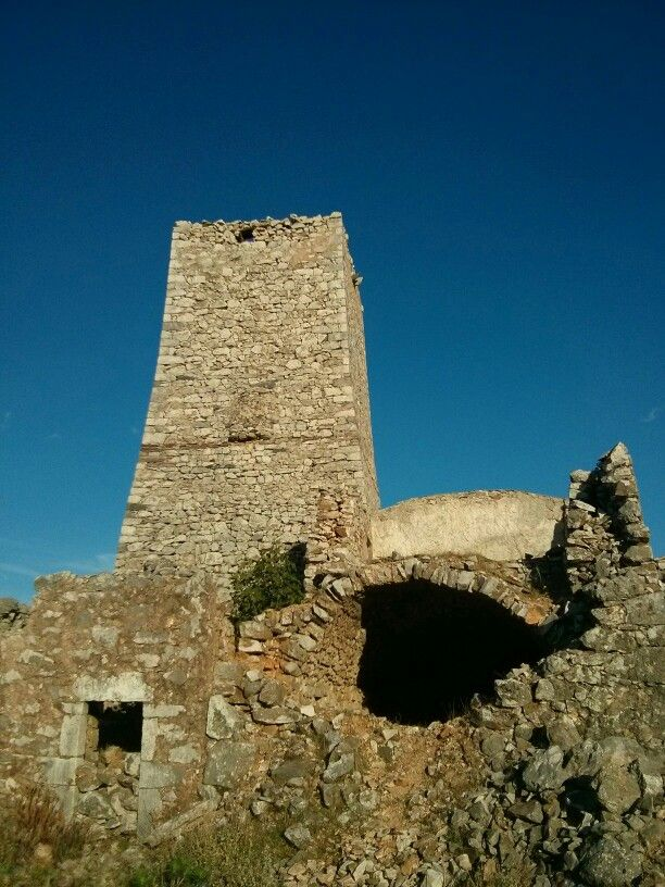 War towers, tower houses, towers in Mani