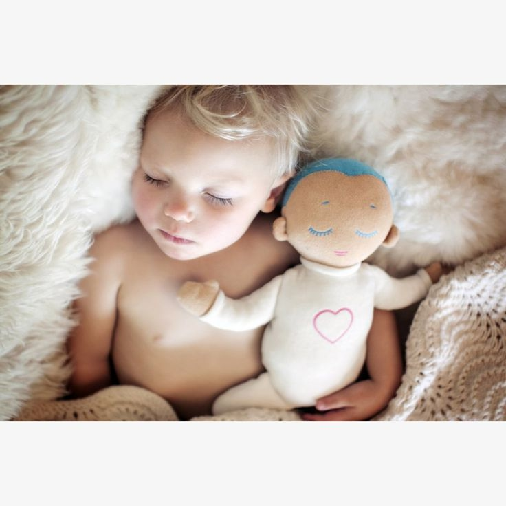 The Lulla doll is a sleep companion for preemies, babies and toddlers. It imitates closeness to a caregiver at rest with its soft feel of natural cotton and soothing sounds of real-life breathing and heartbeat. Lulla's unique design is based on scientific research that shows how closeness improves sleep, wellbeing and safety.    Lulla Dolls | Motherhood | Newborn | Baby Gifts