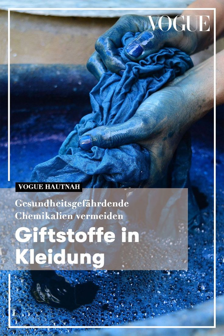 Giftstoffe In Textilien