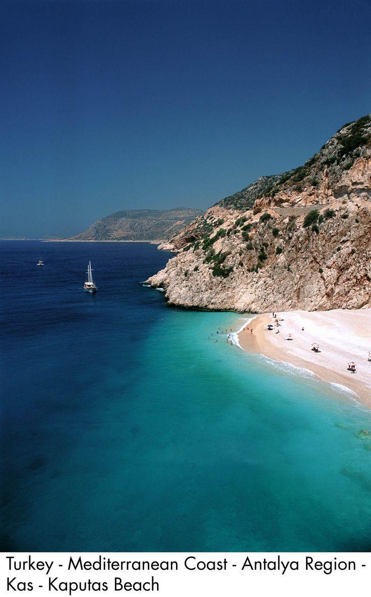 Kaputas Beach, Antalya Region, Turkey.