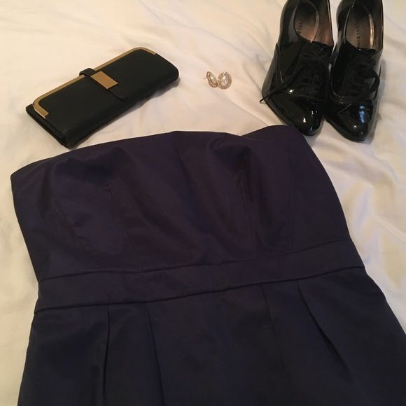 Strapless purple cocktail dress. Never worn. Nwot Strapless purple cocktail dress. Never worn Limited edition at target Dresses