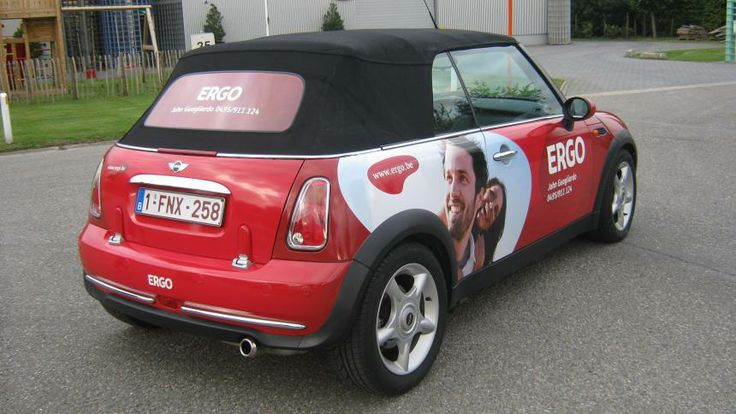 Carwrap voor ERGO | Total Concept