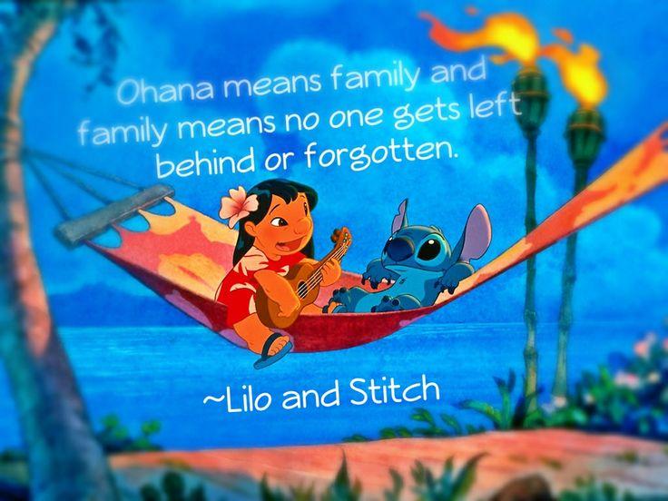 Lilo and stitch quoteLilo And Stitch Quotes