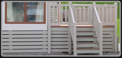 deck skirting options - Google Search