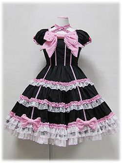 Angelic Pretty » One Piece » Ribbon Doll Princess OP
