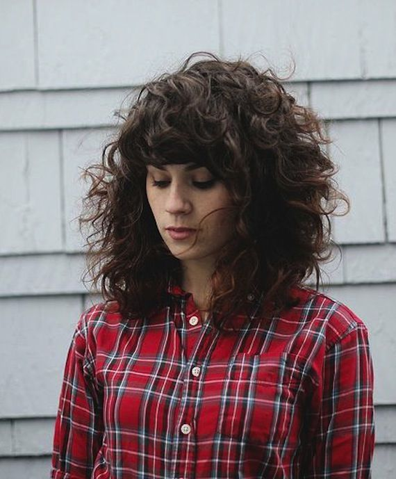 Remarkable 1000 Ideas About Curly Hair With Bangs On Pinterest Hair With Hairstyle Inspiration Daily Dogsangcom