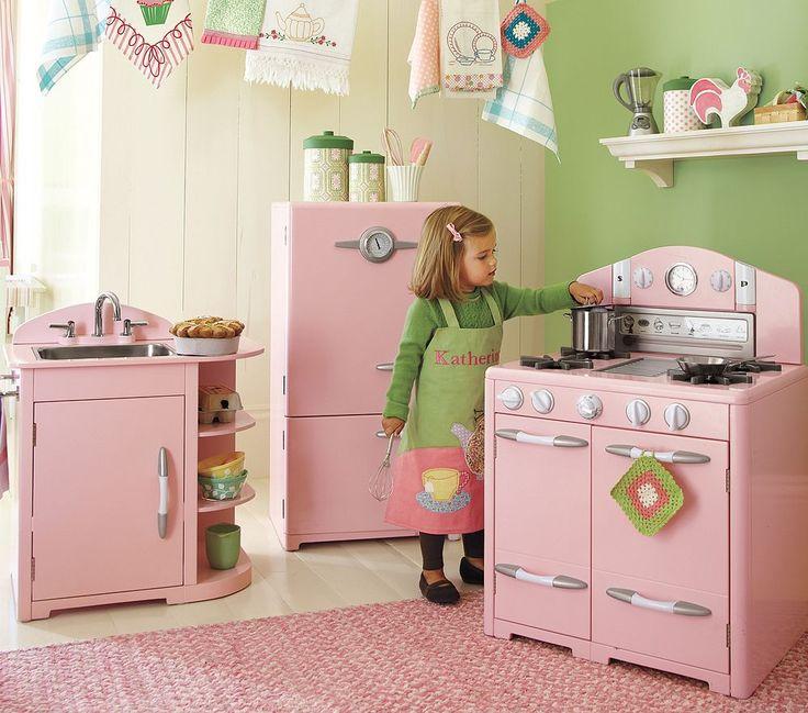 Pink Play Kitchen Set 131 best for kids images on pinterest | play kitchens, kid kitchen
