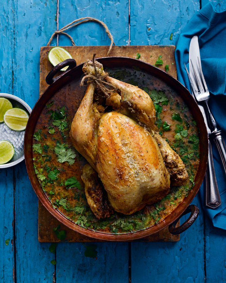 Pot-roast chicken in Thai curry sauce with zesty jasmine rice - This aromatic, gently-spiced pot roast limits the washing up without holding back on flavour or comfort.
