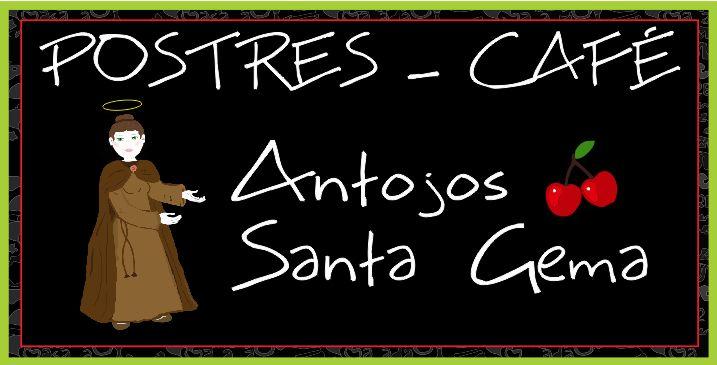Pendón central nuevo punto de atención en Tabio, Cundinamarca de la empresa POSTRES-CAFE ANTOJOS SANTAGEMA