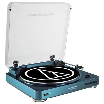 Audio Technica AT-LP60 Turntable in Blue