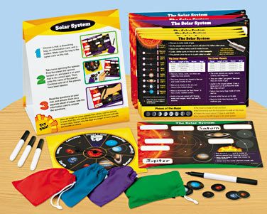 Elementary Science Instant Learning Center - Solar System at Lakeshore Learning
