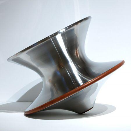 Spun chair by Thomas Heatherwick