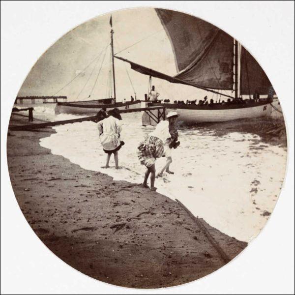 Kodak Children Wading, 1880-1890