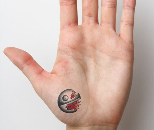 Death Star Tattoo Small: 70 Best Fingers Tattoo Images On Pinterest