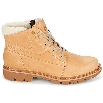 Caterpillar nos propone con el modelo Fret Fur una bota de mujer con mucho estilo. Su color beige y su corte en piel la convierten en el modelo indispensable. Puesto que el confort es importante, su suela ha sido fabricada en caucho flexible. Apostamos a que sucumbirás ante ella. - Color : Beige - Zapatos Mujer 103,92 €