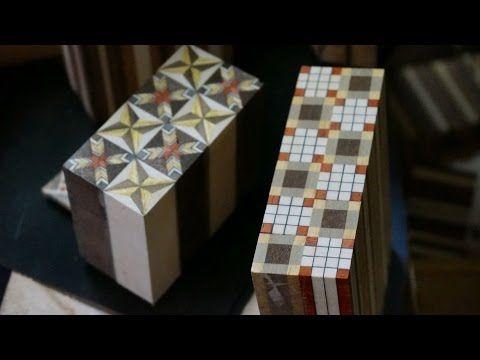 Hakone - Yosegi : des mosaïques de 0.2mm