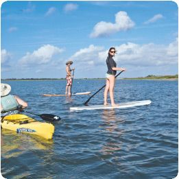 #Work on your paddleboarding skills with lessons from North Island Surf