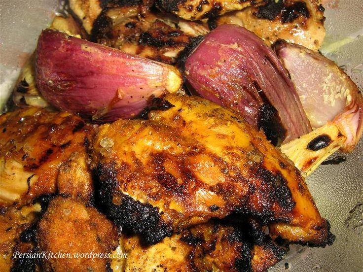 Persian chicken kabob for Ambrosia mediterranean cuisine