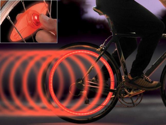 Luci LED di sicurezza per bici - 17,90 € su goociti.com #biciclette #salvaciclisti