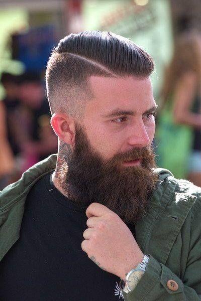 Astonishing 1000 Images About Dapper Beards On Pinterest Men39S Style Thick Short Hairstyles Gunalazisus