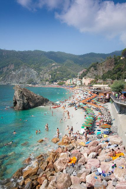 Monterosso, Cinque Terre, Italy My favorite place in the world