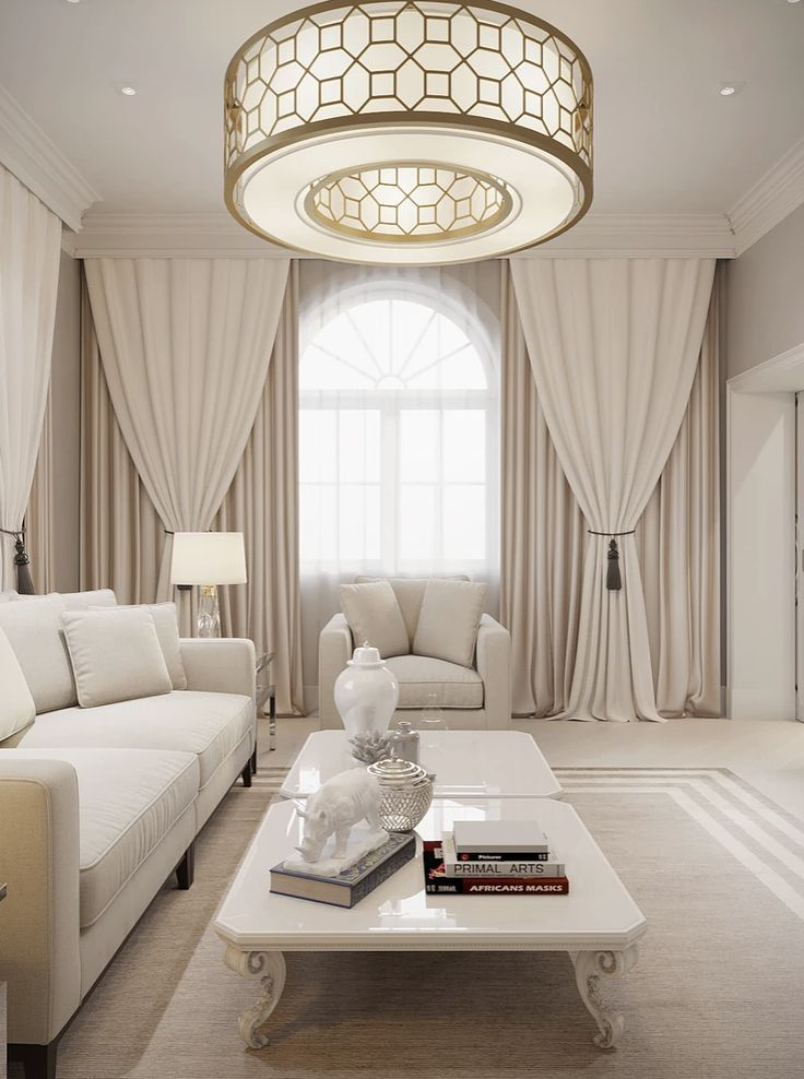 In Interior Studio Luxury Elegant And Beautiful Living Room With
