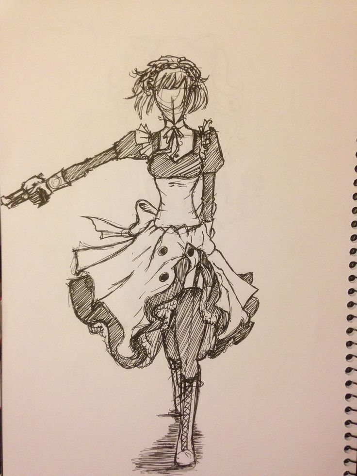 The maid girl off black Buttler